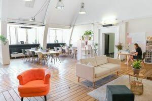 Un espace de coworking sur Bordeaux