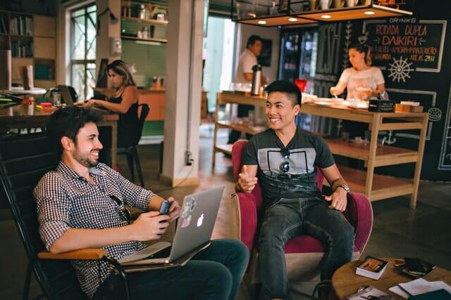 Un espace de coworking atypique